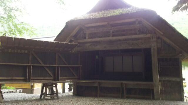 桧岐村歌舞岐の舞台